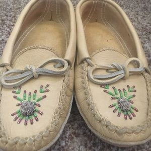 Cozy Leather Moccasins